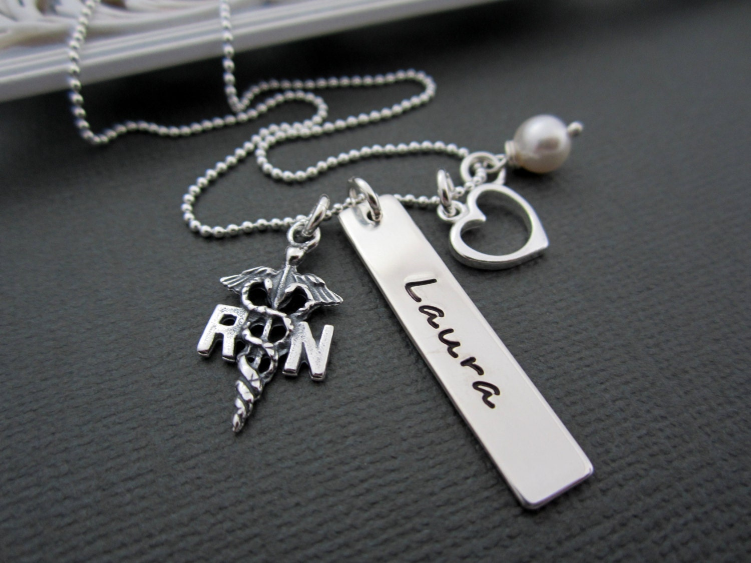 jewelry necklace rn registered by