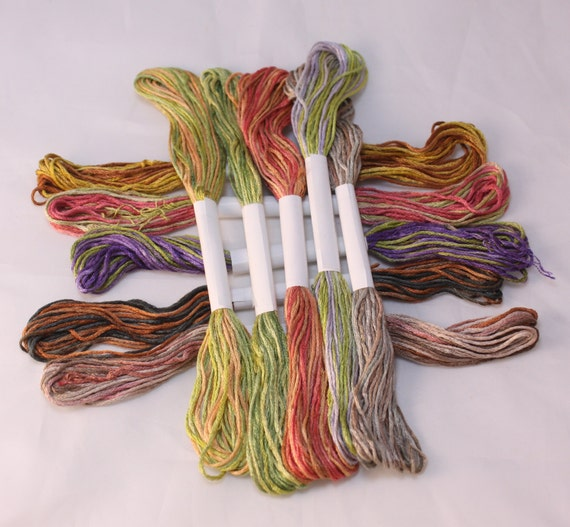Silk 6 Stranded Embroidery Thread Cross Stitch Embroidery