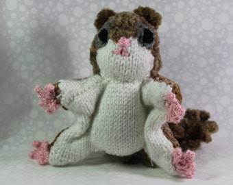 Knitted Southern Flying squirrel