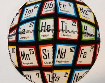 Periodic Table Saucer Kippah/Yarmulke Science Geek