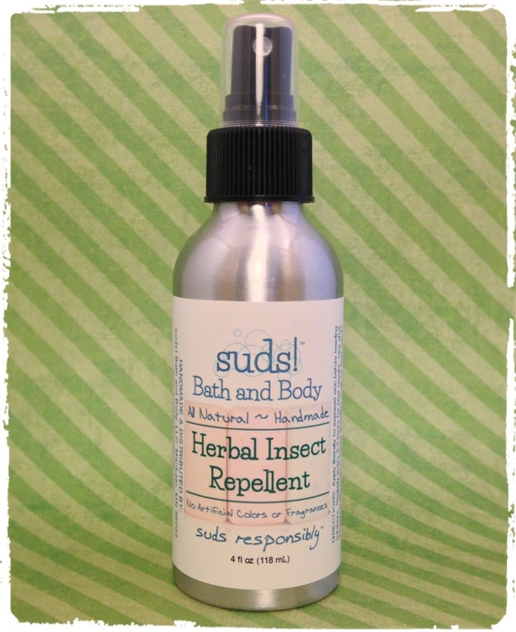 Herbal Insect Repellent All Natural Bug Spray All Natural