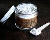 Toothpaste Alternative // Tooth Powder /// Fluoride Free // Vegan // 100% Actually Natural // 2oz