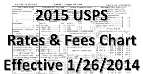 Usps Print Postage Rate Chart | Search Results | Calendar 2015