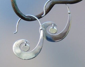 Moon-Wave Earrings