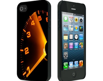 iPhone 4/4S case, iPhone 5/5S Case, iPhone 6, RPM Gauge Amber