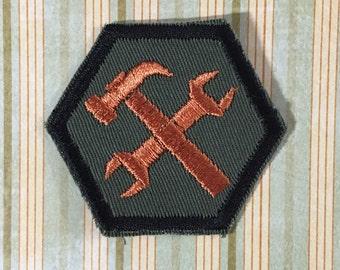 STEAMPUNK Merit Badge - Mechanic Steampunk Scouts