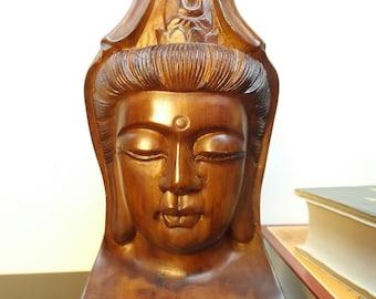 Buddha head statue Etsy
