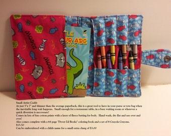 Lil' Artist Crayon/Coloring Book Caddy