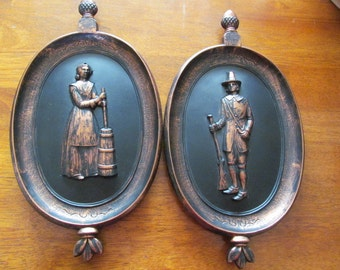Coppercraft Guild Wall Plaques Decorative Wall Decor, Vintage