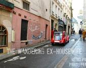 8x10/8x12 Photograph - 'Retro Paris' - Paris, France