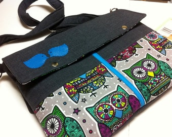 """11"""",13"""",14"""",15"""",17""""Laptop bag-Macbook,MS SurfacePro,LenovoYoga,Sumsung chromebook,Acer,Hp,ASUS--Extra Pockets-OWLS"""