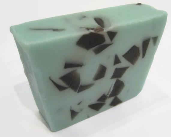 Mint Chocolate Chip Ice Cream Soap