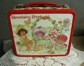 Metal Lunch Box 1981 Strawberry Shortcake, Collectible, Vintage