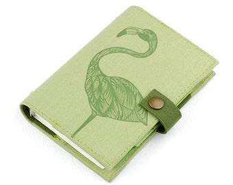 Flamingo, weekly planner, Organizer, Personal Planner, Personal organizer, student, calendar, agenda, monthly, daily, notebook, handmade