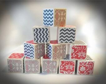 Decorative Blocks,  Centerpiece Blocks, Personalized Alphabet Blocks, Maternity Shoot Blocks, Gender Reveal Party Blocks, Nursery Blocks