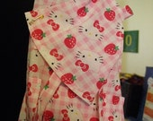 ON SALE Toddler and Doll Apron Set KITTY