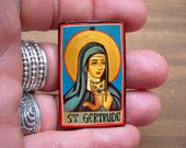 St. Gertrude of Nivelles, Patron Saint of Cats, Help for Housebound and Overweight Cats