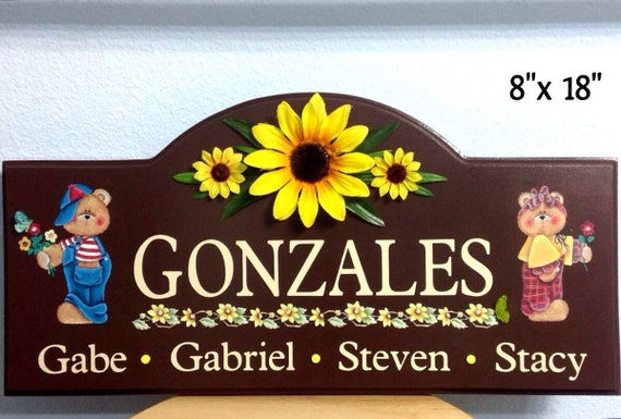 Personalized Signs Home Decor Sign Wedding Gift Decorative Signs