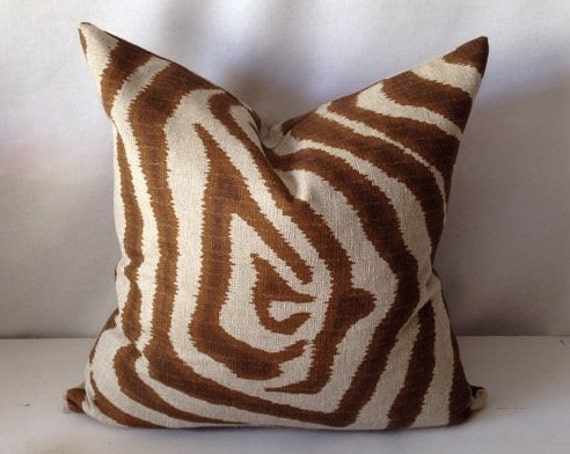 Animal Print Pillow Covers : Designer Animal Print Pillow Cover by PillowLoftHomeDecor on Etsy