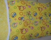 Eeyore, Winnie the Pooh, Tigger and Piglet Standard Size Pillowcase - Great Birthday Gift