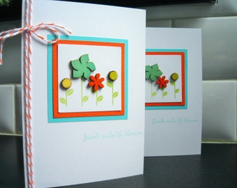 Spring Birthday Card, Friendship Card, Thinking of You Card, Thank You Card, Any Occasion Card