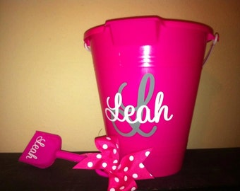 Personalized Easter Bucket/Sand Pail/Party Favor