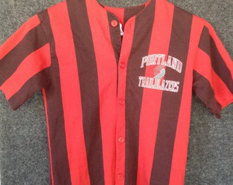 Vintage Kids Portland Trailblazers jersey shirt USA