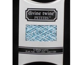 Aqua Blue Twine - 20 yards