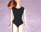 Barbie Vintage BLACK Helenca Swimsuit PAK Minty 1960's Bodysuit