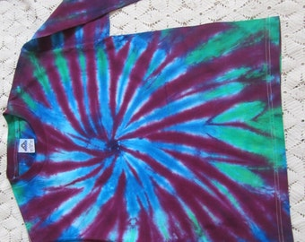 "Tie dye long sleeve shirts, 2 to choose from in Youth Large- ""Pinwheel Perfection"", 275"