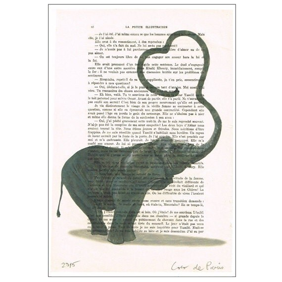 Elephant Love Art Elephant Love Art Print