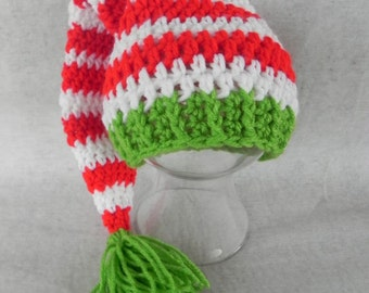 Striped Stocking Cap Choose Size 0 to 6 months NEWBORN PHOTOGRAPHY PROP
