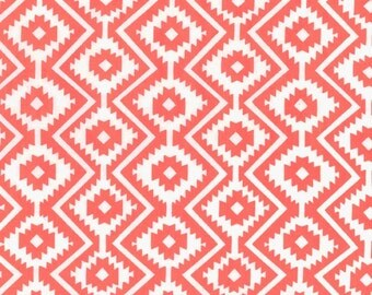 Eduardo in Coral from The Fiesta Collection by Michael Miller