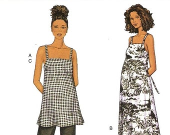 Maternity Spaghetti Strap Dress Pattern Butterick 3403 (Womens sizes 20-22-24)