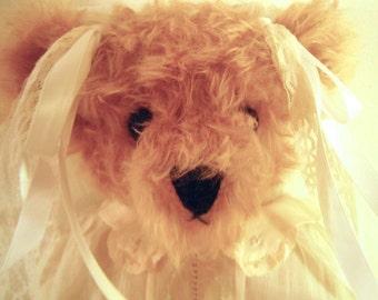 Teddy Bear Handmade Mohair
