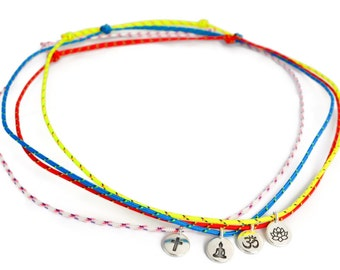 SALTI Spirit Collection ~ nautical rope necklace with symbol charm FREE Shipping