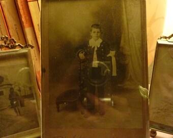 Belle Epoch  Bevelled glass easel  photograph frame