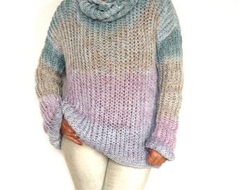 Pastel Tye Dye Sweater.