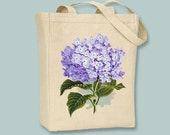 Beautiful Vintage Hydrangea flower  Canvas Tote -- Selection of sizes available