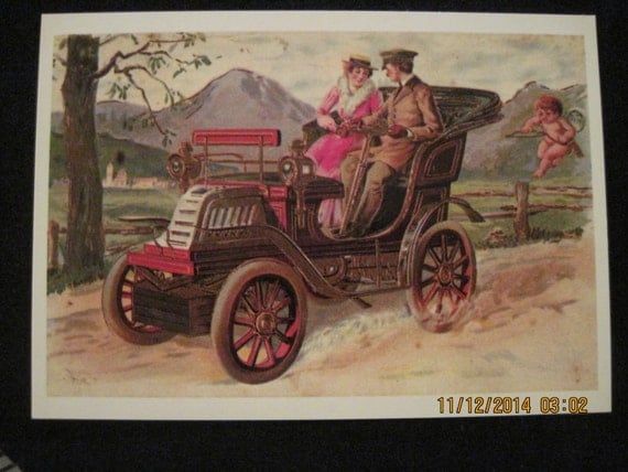 "Vintage ""Good Ole Days"" Post Card...unknown age"
