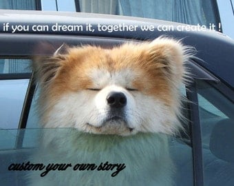 Custom Wishes.. Feline or Canine /custom your own story/pet cards/unique empathy condolence/pet sympathy