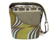 Cross Body Purse, Shoulder Bag, Geometric Pattern
