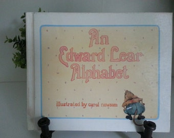 1983 An Edward Lear Alphabet illustrated by Carol Newsom