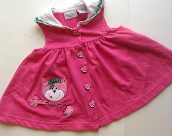 Vintage Watermelon Kitty Tank (18 months)
