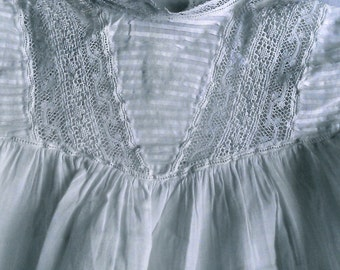 Antique French baby top/shirt