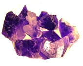 Quartz Crystal Cluster Soap Set, Any Color Guest Size Rock Soap, 7 to 10 pieces included
