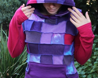 Psy Patchy Pixie Faery Purple Vest