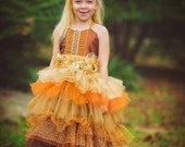 fairy dress, party dress, wedding flower girl dress, birthday dress, special occasion dress