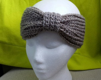 Crochet Bow Earwarmer