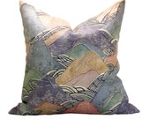 Kelly Wearstler Edo Linen pillow cover in Opal